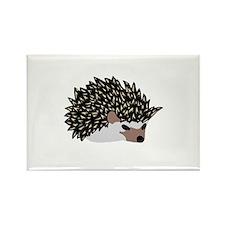 tea time hedgehog Rectangle Magnet