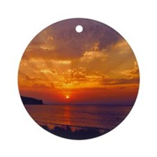 Dawning of Day CD Art Round Ornament- No Words