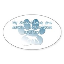 German Shorthaired Pointer Grandchildren Decal