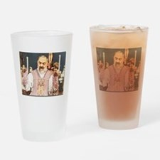 Cool Padre pio Drinking Glass