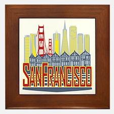 SF Golden Skyline Framed Tile
