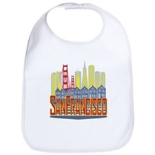 SF Golden Skyline Bib
