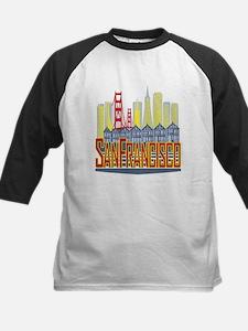 SF Golden Skyline Baseball Jersey