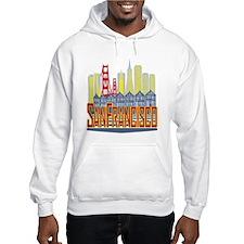 SF Golden Skyline Hoodie
