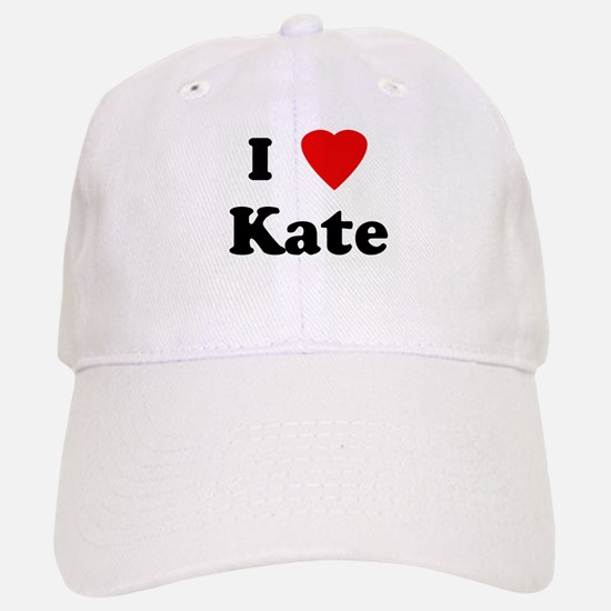 I Love Kate Baseball Baseball Cap