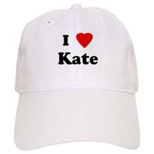 I Love Kate Baseball Cap