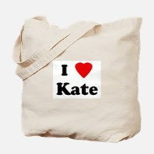 I Love Kate Tote Bag