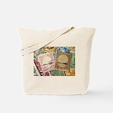 Cute Los angeles pink Tote Bag
