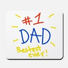 #1 dad Mousepad