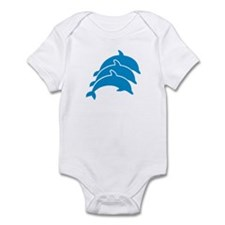 Jumping Dolphins Infant Bodysuit
