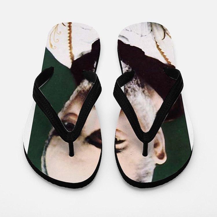 Cute Monk Flip Flops