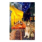 Cafe & Golden Postcards (Package of 8)