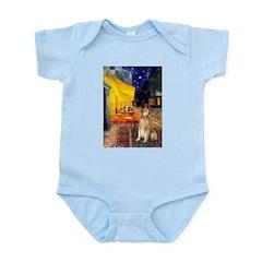 Cafe & Golden Infant Bodysuit
