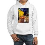 Cafe & Golden Hooded Sweatshirt