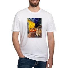 Cafe & Golden Shirt