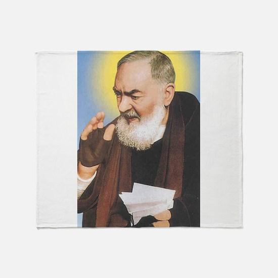 Cool Monk Throw Blanket
