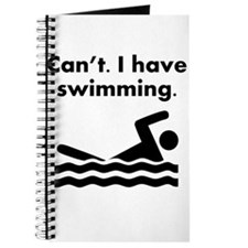 Cant I Have Swimming Journal