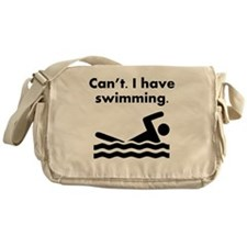 Cant I Have Swimming Messenger Bag