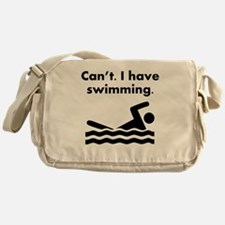 Cant I Have Swimming Messenger Bag