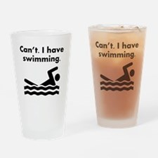 Cant I Have Swimming Drinking Glass
