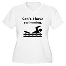 Cant I Have Swimming Plus Size T-Shirt
