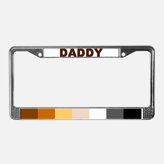 Funny Colors License Plate Frame