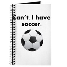 Cant I Have Soccer Journal