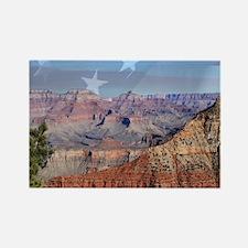 Patriotic Grand Canyon 1 Magnets