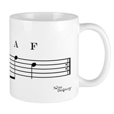 decaf (bass clef) Mug