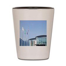 Features cultural and natural history N Shot Glass