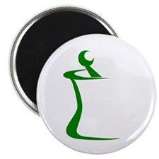 """Green Mortar and Pestle 2.25"""" Magnet (10 pack)"""