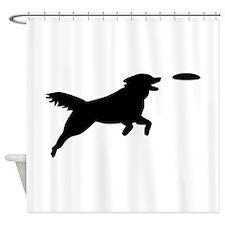 Dog Agility Shower Curtain