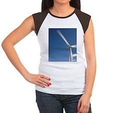 Wild Horse Wind Facilit Women's Cap Sleeve T-Shirt