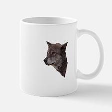 Portrait of a Wolf Mugs