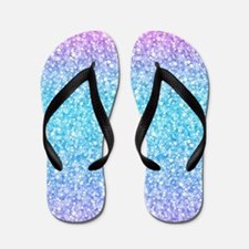 Funny Glitter Flip Flops