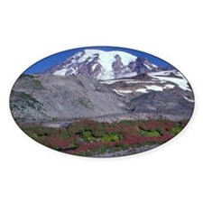 Mt. Rainier and reflection along Pa Decal