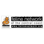 Feline Network Logo - Bumper Sticker
