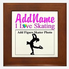 SUPER STAR SKATER Framed Tile