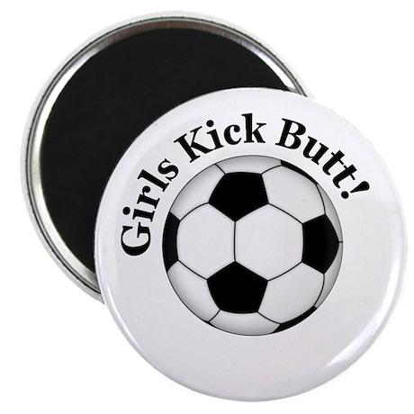 Girls Kick Butt Magnet