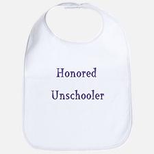 Honored Unschooler Bib