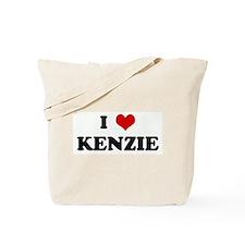 I Love KENZIE Tote Bag