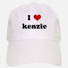 I Love kenzie Baseball Baseball Cap