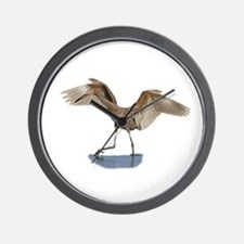 Unique Egret Wall Clock