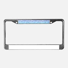 Colorful Retro Glitter And Sparkles License Plate