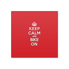 Keep Calm Bike Sticker