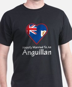 Happily Married Anguillan T-Shirt