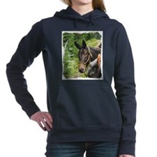 hewholaughs.jpg Women's Hooded Sweatshirt