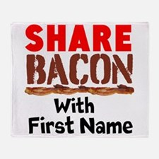 Share Bacon With Throw Blanket