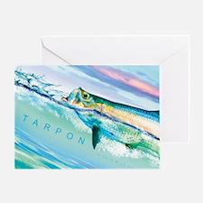 Cute Tarpon Greeting Card