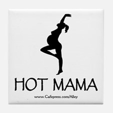 Hot Mama Tile Coaster